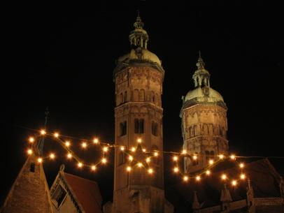 Naumburger Weihnachtsmarkt.Advent Naumburg Osef E V